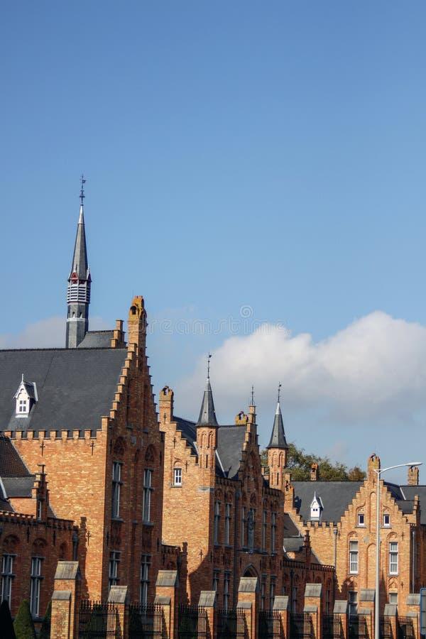 Μεσαιωνική περπατημένη αρχιτεκτονική στοκ φωτογραφία με δικαίωμα ελεύθερης χρήσης