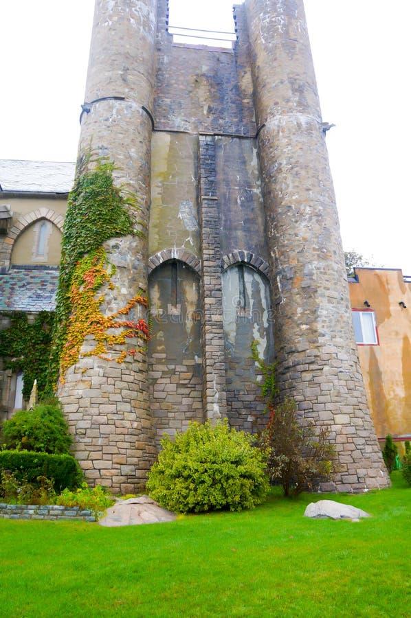 Μεσαιωνική ρωμαϊκή καταστροφή κάστρων, Portchester Castle, στοκ εικόνες