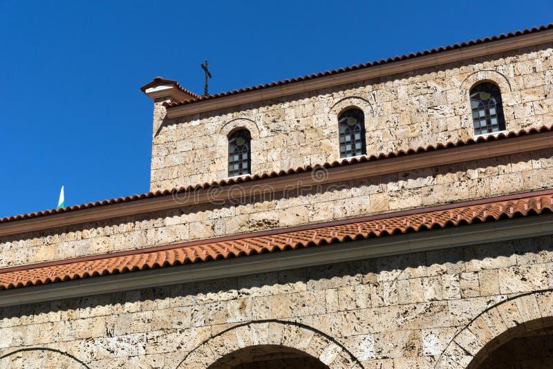 Μεσαιωνικός η ιερή εκκλησία σαράντα μαρτύρων - ανατολική Ορθόδοξη Εκκλησία που κατασκευάζεται το 1230 στην πόλη του Βελίκο Τύρνοβ στοκ εικόνες με δικαίωμα ελεύθερης χρήσης
