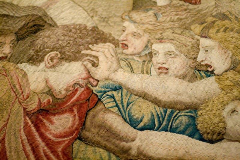 μεσαιωνικός τάπητας στοκ εικόνες