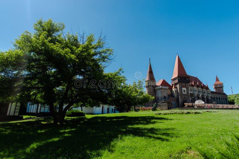 Μεσαιωνικό κάστρο, Corvinesti, Ρουμανία στοκ φωτογραφία με δικαίωμα ελεύθερης χρήσης