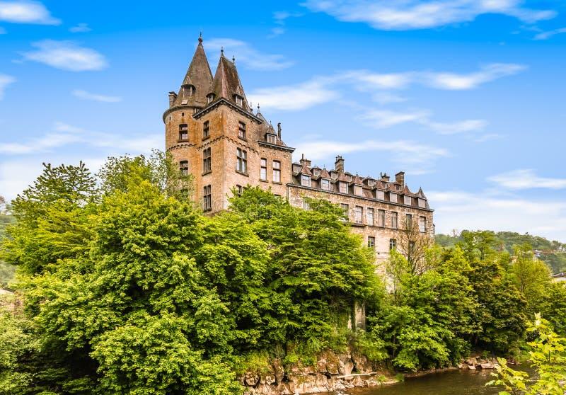 Μεσαιωνικό κάστρο Durbuy, Βέλγιο στοκ φωτογραφία