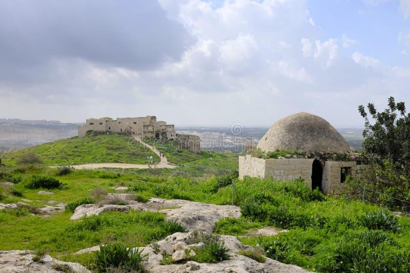 Μεσαιωνικό κάστρο Mirabel, Ισραήλ στοκ φωτογραφία με δικαίωμα ελεύθερης χρήσης