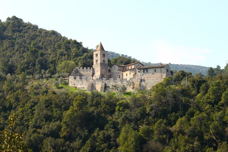 Μεσαιωνικό κάστρο Narni στοκ φωτογραφίες