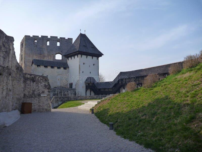 Μεσαιωνικό κάστρο Stari Grad σε Celje στη Σλοβενία στοκ εικόνα