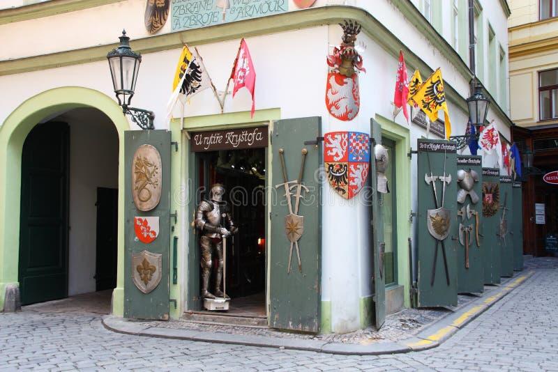 μεσαιωνικό κατάστημα στοκ φωτογραφία με δικαίωμα ελεύθερης χρήσης