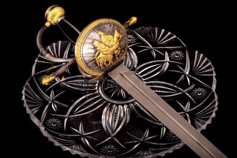 μεσαιωνικό ξίφος στοκ φωτογραφίες με δικαίωμα ελεύθερης χρήσης