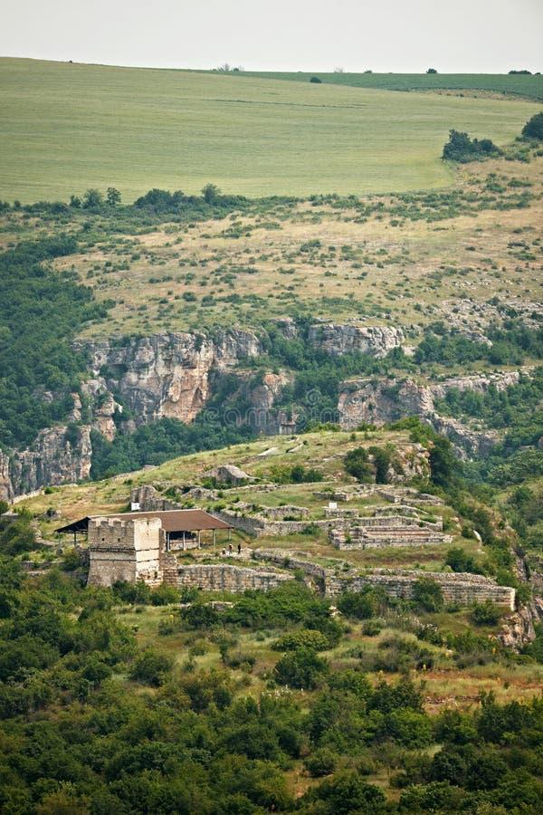 Μεσαιωνικό φρούριο Cherven στοκ φωτογραφία με δικαίωμα ελεύθερης χρήσης