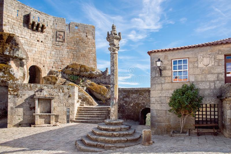 Μεσαιωνικό χωριό στοκ φωτογραφίες