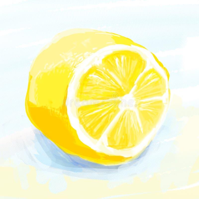 Μεσημέρι λεμονιών διανυσματική απεικόνιση