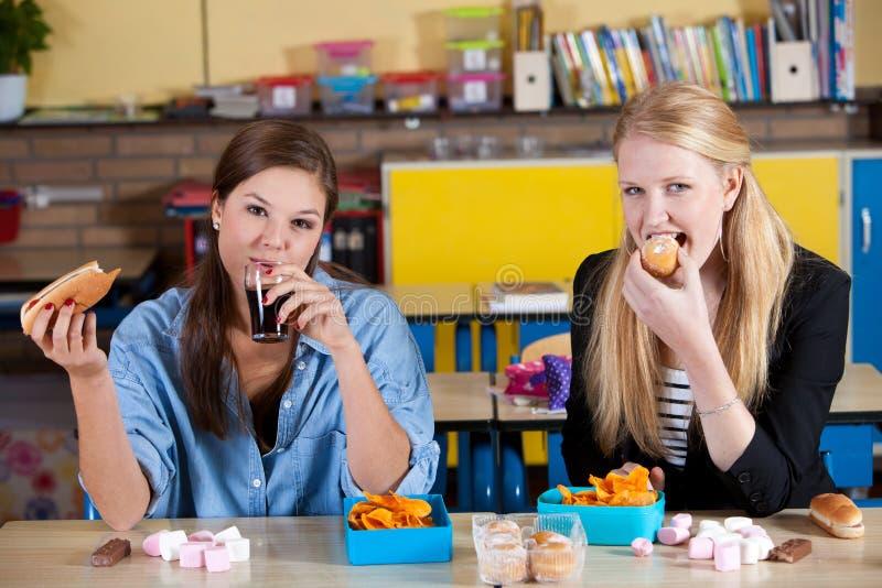 μεσημεριανό γεύμα ανθυγ&epsi στοκ φωτογραφίες με δικαίωμα ελεύθερης χρήσης
