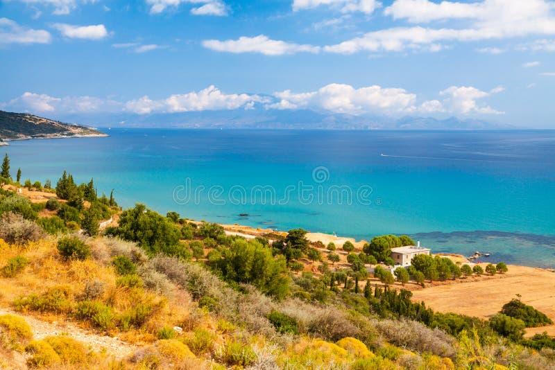 Μεσόγειος και Ζάκυνθος στοκ εικόνες με δικαίωμα ελεύθερης χρήσης