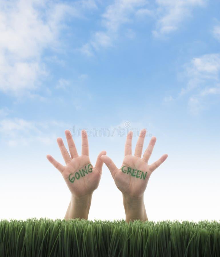 Μετάβαση πράσινος στοκ εικόνα με δικαίωμα ελεύθερης χρήσης