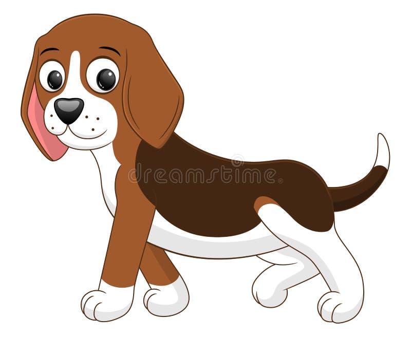 Μετάβαση σκυλιών κινούμενων σχεδίων ελεύθερη απεικόνιση δικαιώματος