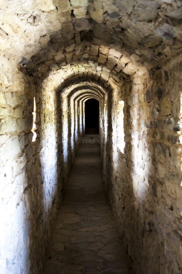 Μετάβαση στο κάστρο - Kamianets Podilskyi, Ουκρανία, Ευρώπη. στοκ φωτογραφίες