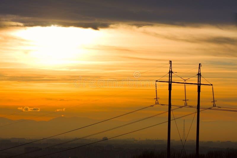 μετάδοση γραμμών στοκ εικόνες με δικαίωμα ελεύθερης χρήσης
