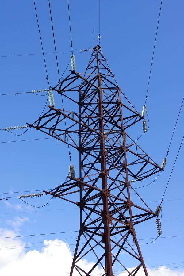 μετάδοση πύργων γραμμών στοκ φωτογραφία με δικαίωμα ελεύθερης χρήσης