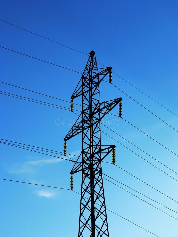 μετάδοση πύργων ισχύος στοκ φωτογραφία με δικαίωμα ελεύθερης χρήσης