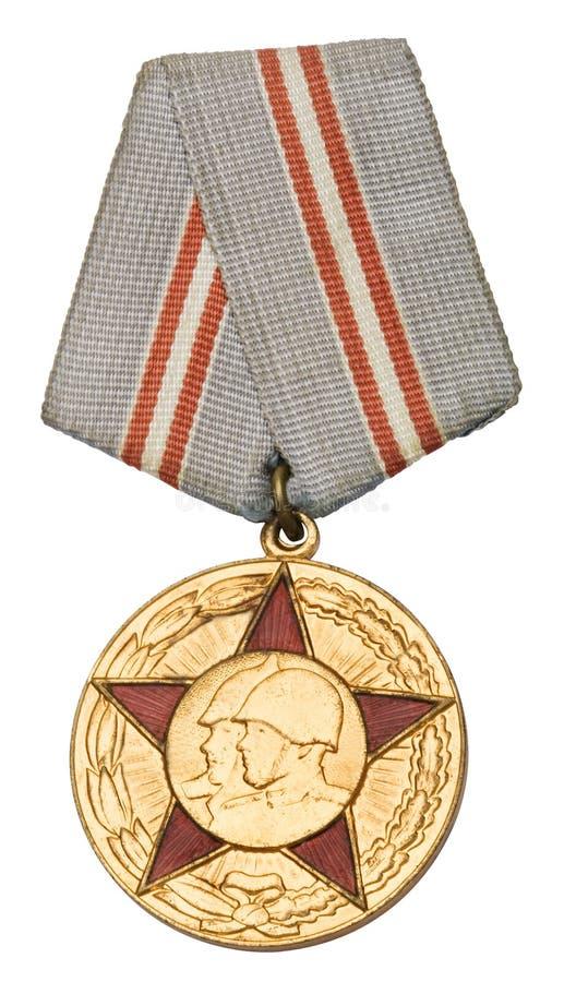 μετάλλιο σοβιετικό στοκ εικόνα