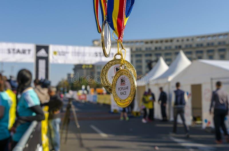 Μετάλλια βραβείων στοκ εικόνες