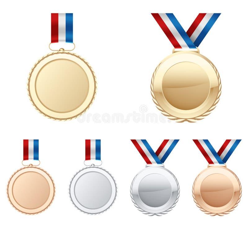 μετάλλια στοκ εικόνα με δικαίωμα ελεύθερης χρήσης