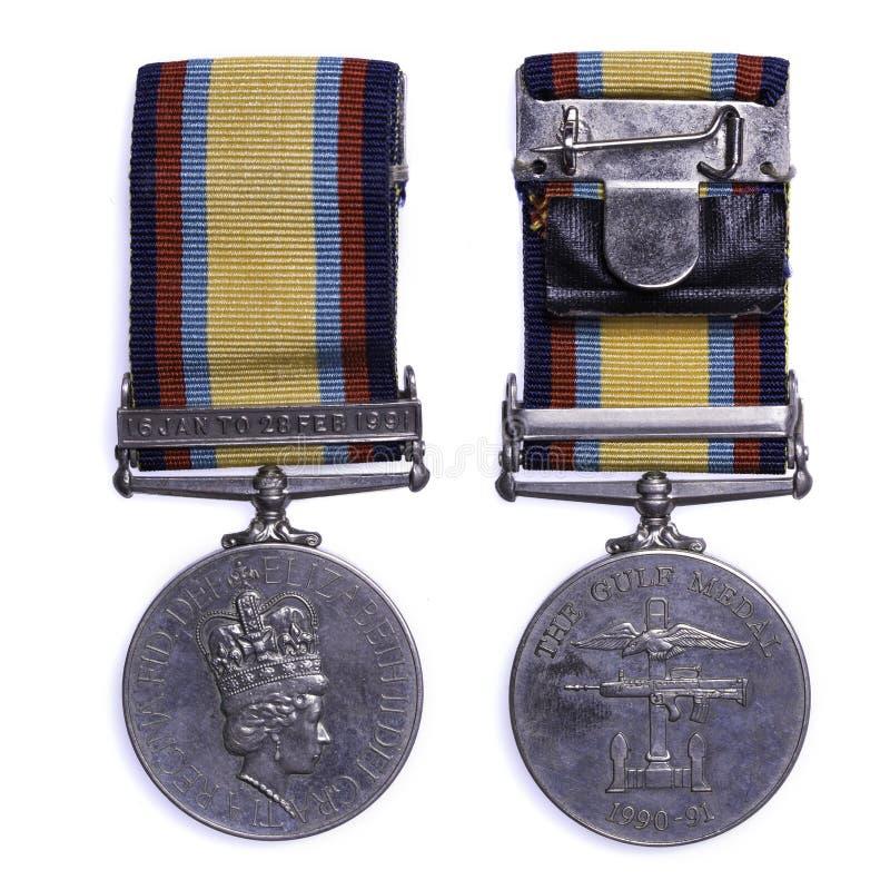 Μετάλλιο 1990-1991 Κόλπων στοκ φωτογραφία