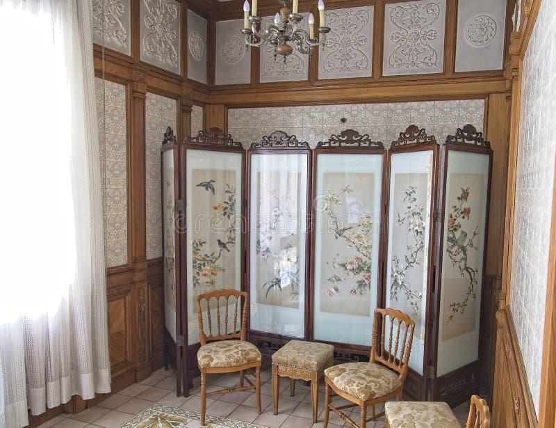 Μεταβαλλόμενο δωμάτιο παλατιών Ceausescu στοκ εικόνες με δικαίωμα ελεύθερης χρήσης