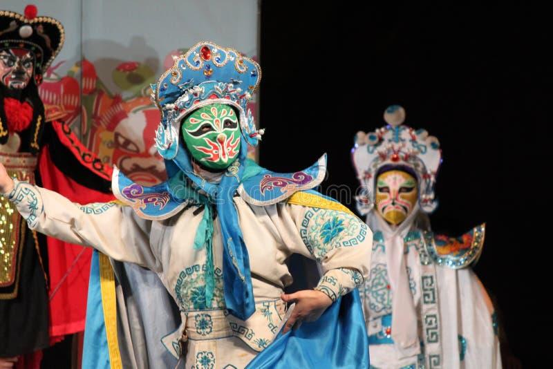 μεταβαλλόμενο πρόσωπο sichuan στοκ εικόνες
