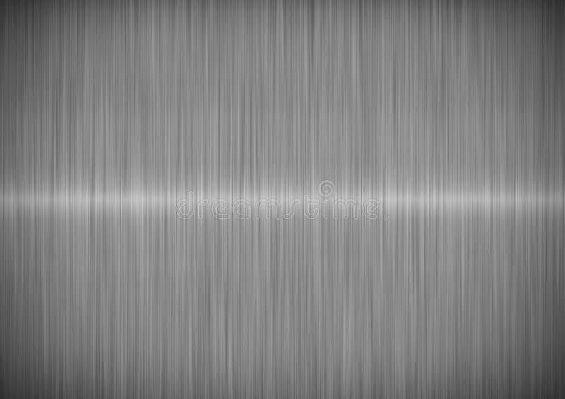 μεταλλικός ασημένιος χάλ διανυσματική απεικόνιση