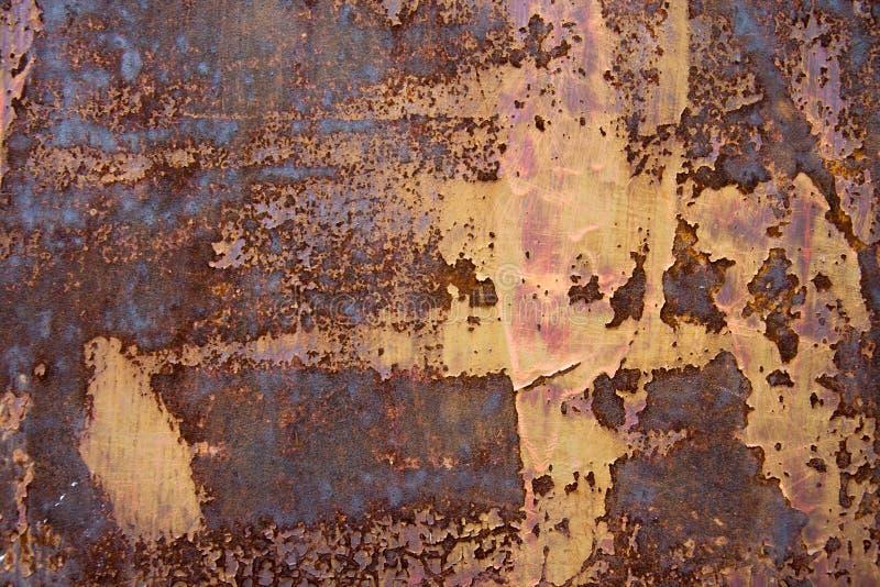 μεταλλικός παλαιός σκο& στοκ φωτογραφία