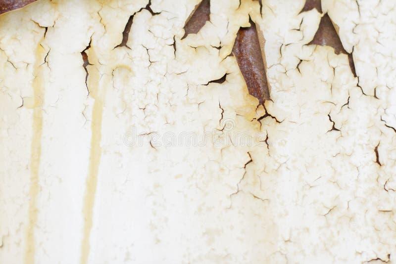Μεταλλικός παλαιός τοίχος Πόρτα γκαράζ σύσταση λεπτομερές ανασκόπηση grunge γεια ιδιαίτερα ύφος διάλυσης στρώματος στοκ εικόνες