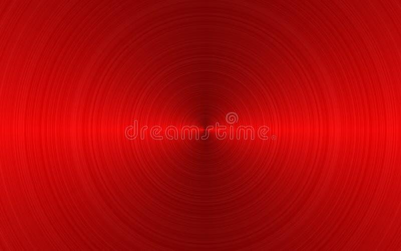 μεταλλικό κόκκινο απεικόνιση αποθεμάτων