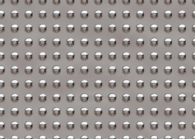 μεταλλικό πιάτο άνευ ραφή&sigma απεικόνιση αποθεμάτων