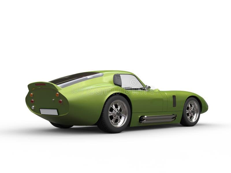 Μεταλλικό πράσινο καταπληκτικό εκλεκτής ποιότητας ράλι διανυσματική απεικόνιση