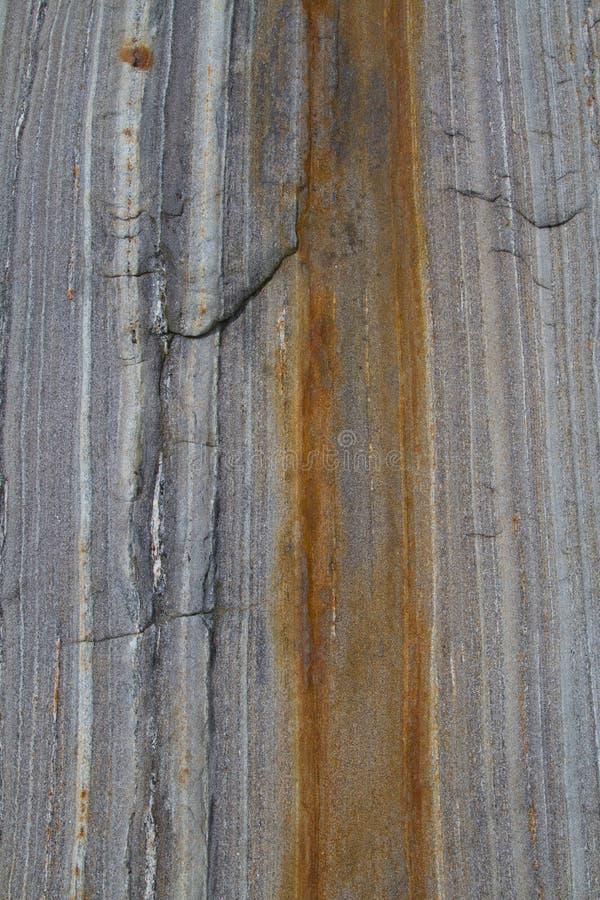 Μεταμορφικός βράχος layeres στοκ εικόνα