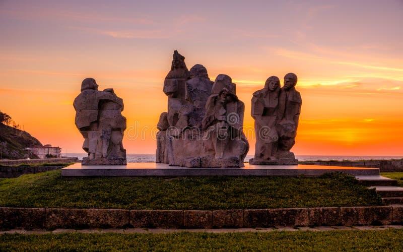 Μεταξύ δύο κόσμων Pontevedra, Ισπανία στοκ φωτογραφία με δικαίωμα ελεύθερης χρήσης