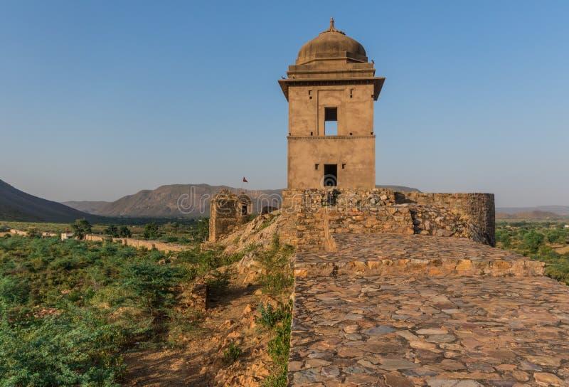 Μεταξύ του Νέου Δελχί και του Πακιστάν, μια desertic περιοχή διάσημη των κάστρων του, των ζωηρόχρωμων ανθρώπων του, και των περίπ στοκ εικόνες