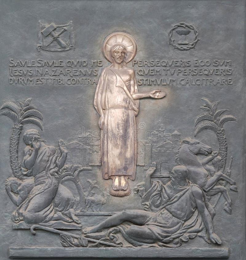 Μετατροπή του ST Paul ` s στοκ φωτογραφία με δικαίωμα ελεύθερης χρήσης