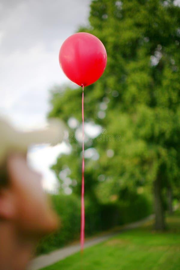 μετατόπιση μπαλονιών στοκ εικόνες