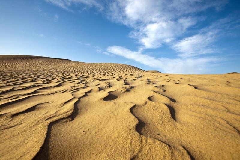 Μετατόπιση των άμμων στοκ εικόνες
