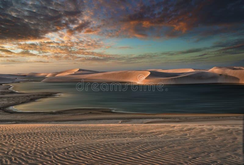 Μετατόπιση των άμμων στοκ φωτογραφία με δικαίωμα ελεύθερης χρήσης