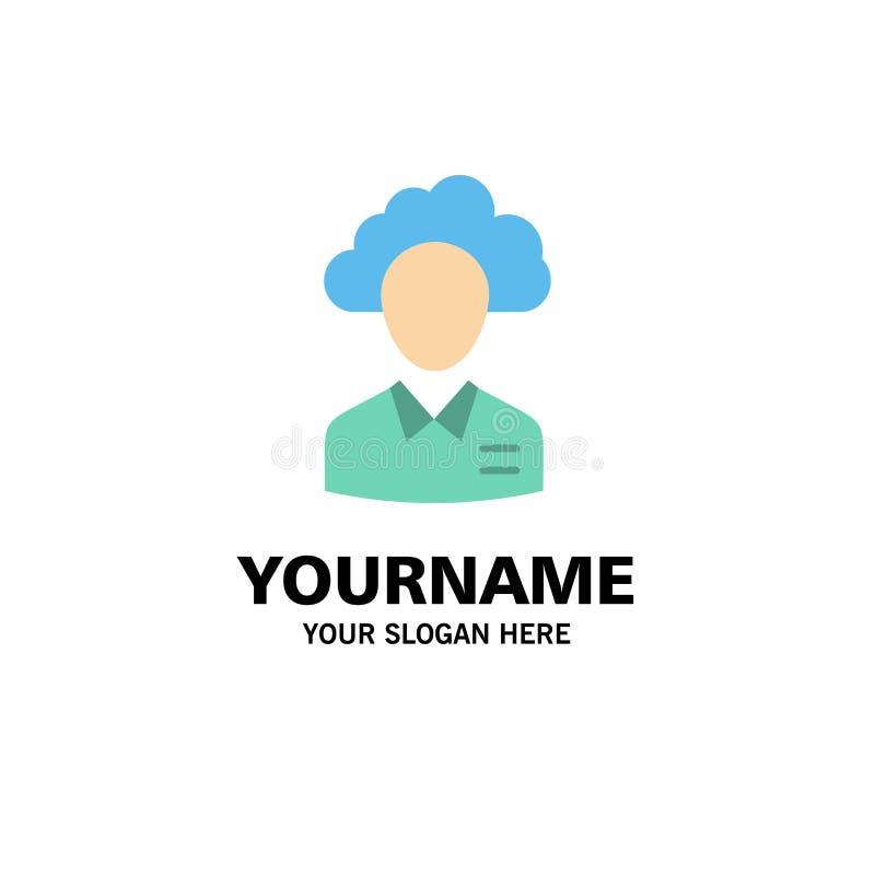Μεταφέρετε, καλύψτε, άνθρωπος, διαχείριση, διευθυντής, άνθρωποι, πρότυπο επιχειρησιακών λογότυπων των πόρων Επίπεδο χρώμα διανυσματική απεικόνιση