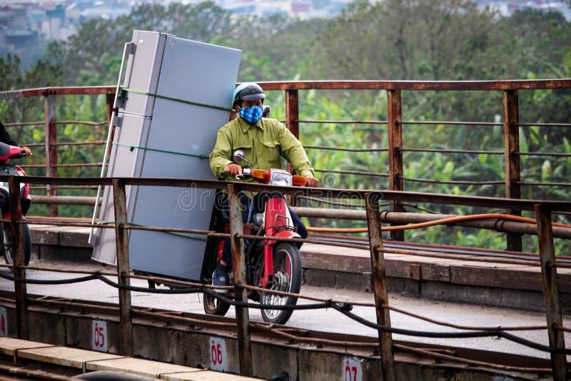 Μεταφορά Βιετνάμ μοτοσικλετών στοκ φωτογραφία με δικαίωμα ελεύθερης χρήσης