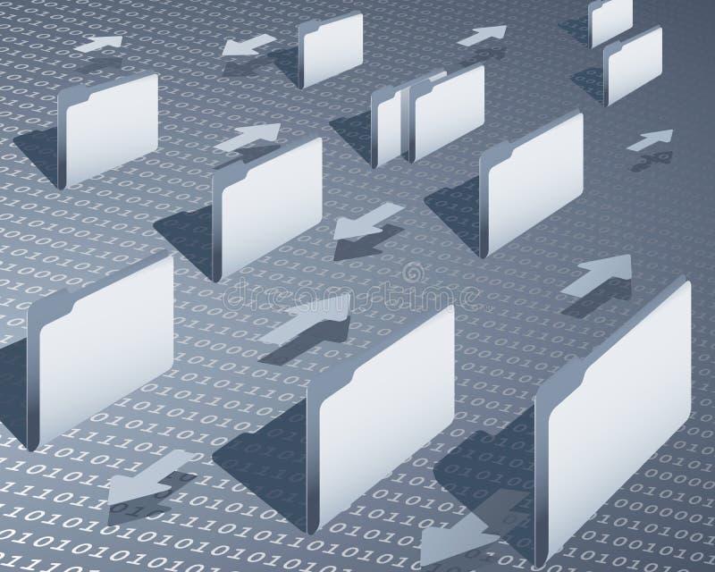 μεταφορά δεδομένων ελεύθερη απεικόνιση δικαιώματος