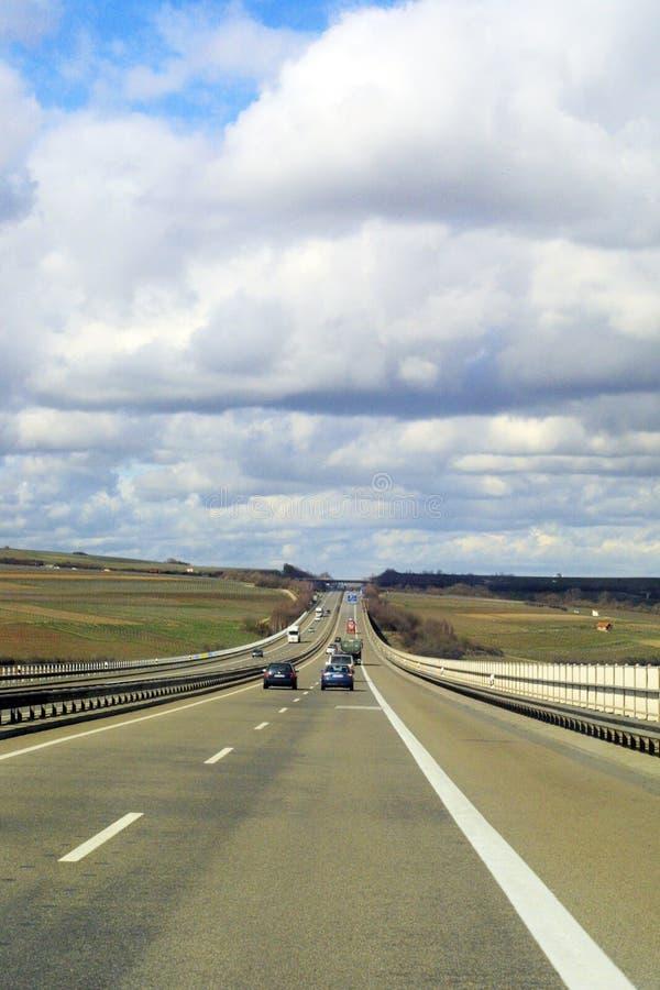 μεταφορά εθνικών οδών Στοκ Εικόνες
