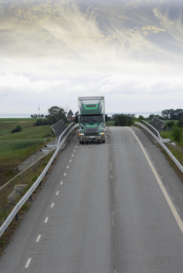μεταφορά με φορτηγό στοκ εικόνα με δικαίωμα ελεύθερης χρήσης