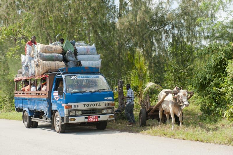 Μεταφορά στην Αφρική στοκ εικόνα με δικαίωμα ελεύθερης χρήσης