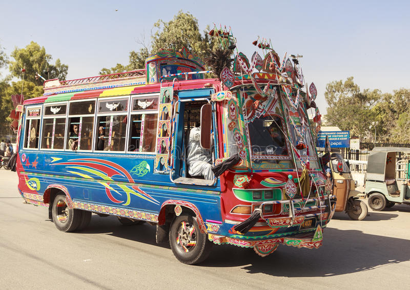 Μεταφορά στο Πακιστάν στοκ φωτογραφία