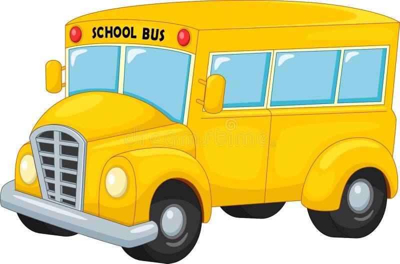 Μεταφορά σχολικών λεωφορείων στο ταξίδι εκπαίδευσης απεικόνιση αποθεμάτων