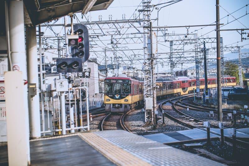 Μεταφορά του Κιότο στοκ φωτογραφία με δικαίωμα ελεύθερης χρήσης